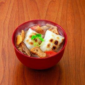 画像2: 『けんちん雑煮450g(1人前)』(レトルトけんちん汁とお餅のセット)